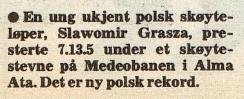 Faksimile Arbeiderbladet 23.12.1976