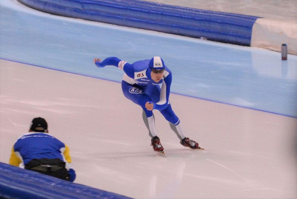 Den finske skøyteløperen Jorma Valtonen.