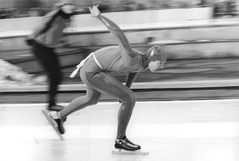Den øst-tyske skøyteløperen André Hoffmann