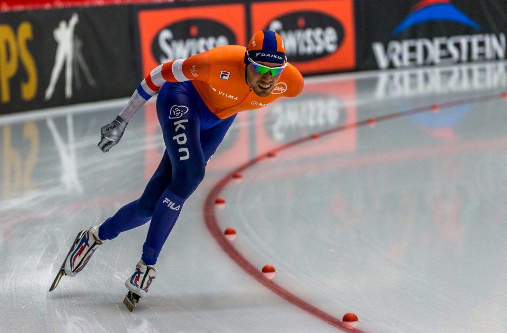 Bilde av den nederlandske skøyteløperen Patrick Roest.