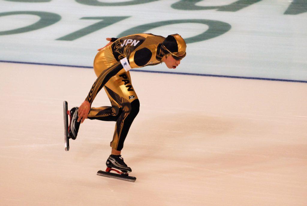 Bilde av den japanske skøyteløperen Hiroki Hirako.