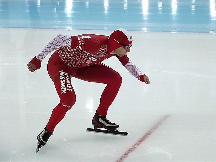 Bilde av den polske skøyteløperen Zbigniew Bródka.