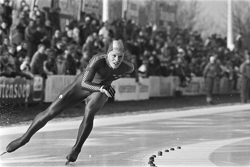 Bilde av den svenske skøyteløperen Tomas Gustafson.