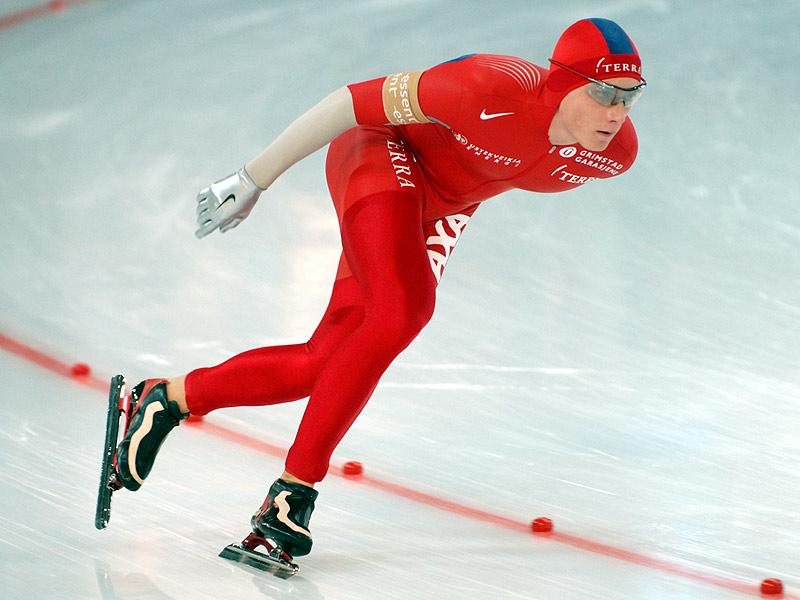 Bilde av skøyteløperen Håvard Bøkko.
