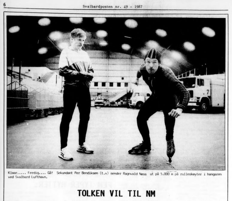 Faksimile Svalbardposten nr 49 - 1987.