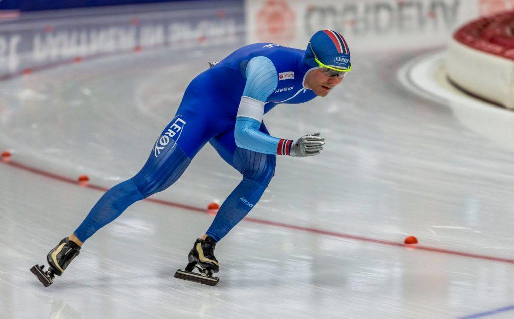 Bilde av skøyteløperen Sverre Lunde Pedersen.