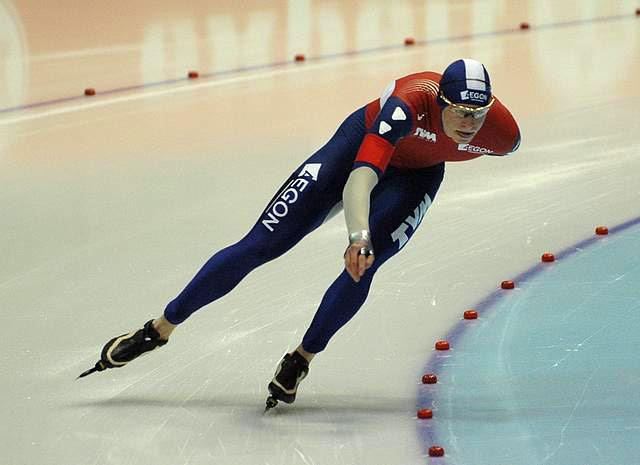 Bilde av skøyteløperen Sven Kramer.